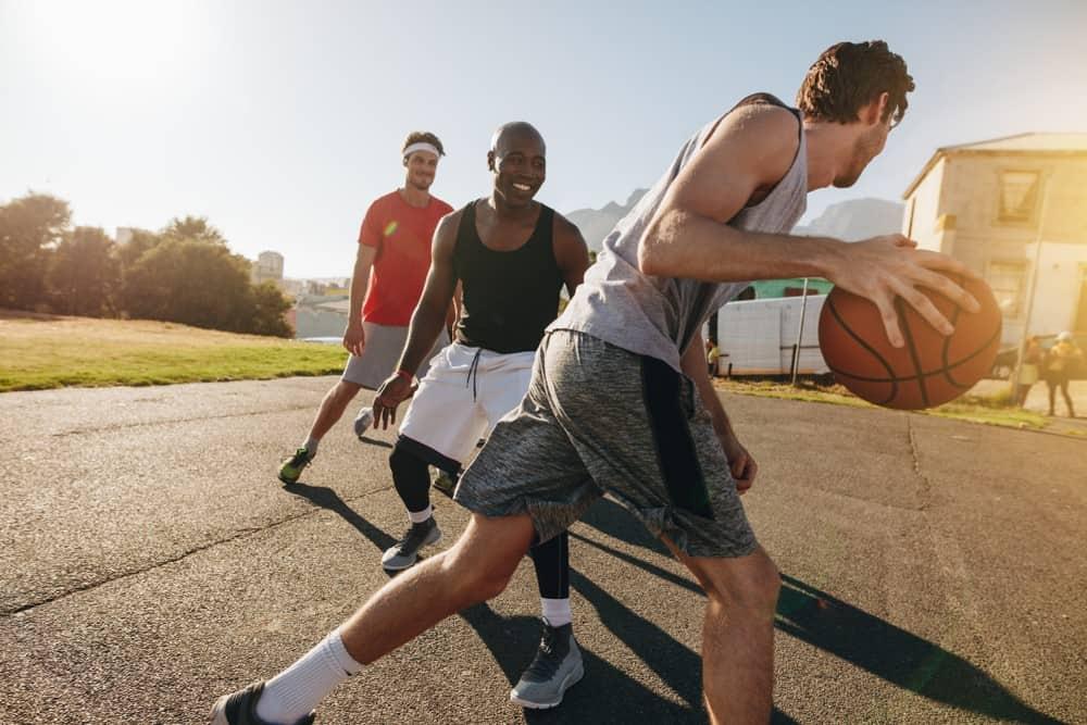 Basketball tips exercise