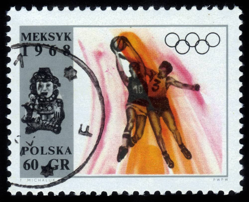 History of Basketball Invention Stamp