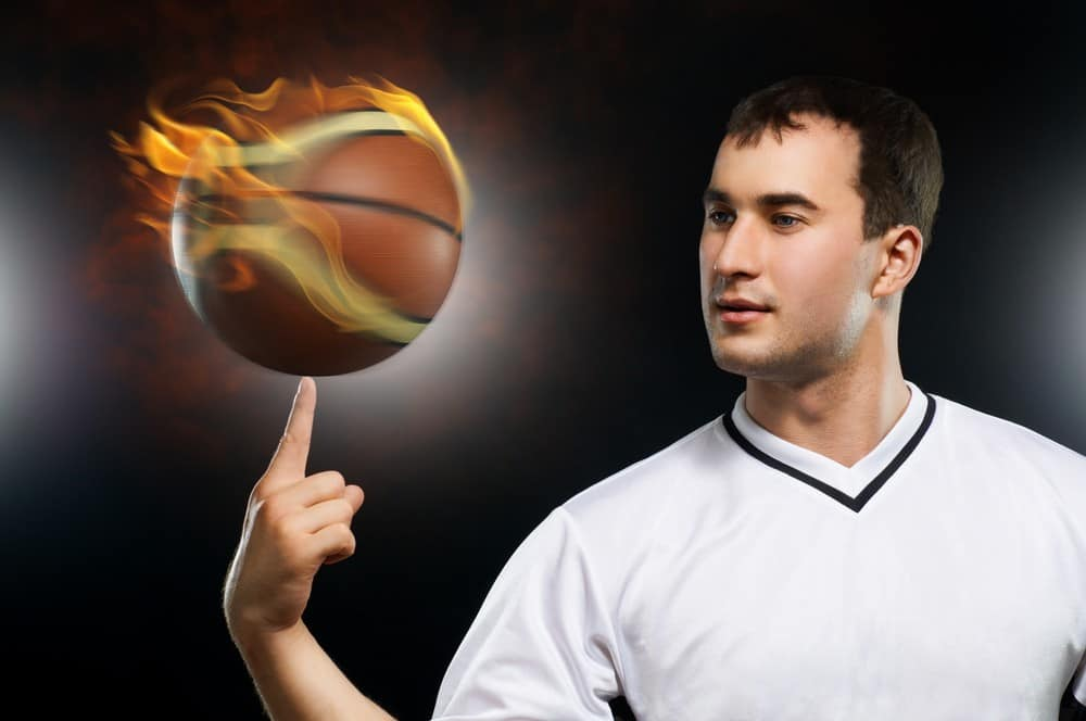 How to Spin Basketball on Finger tips