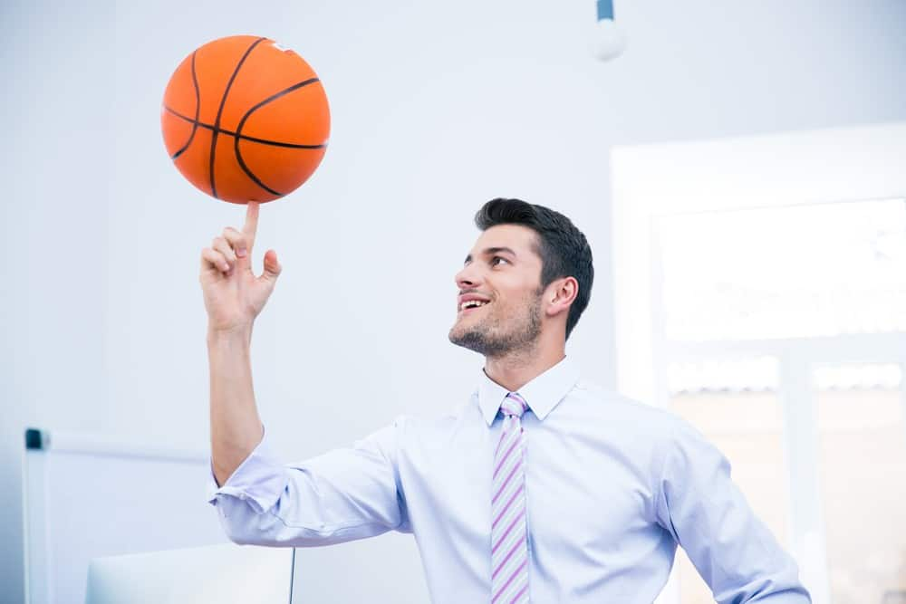 How to Spin Basketball on Finger