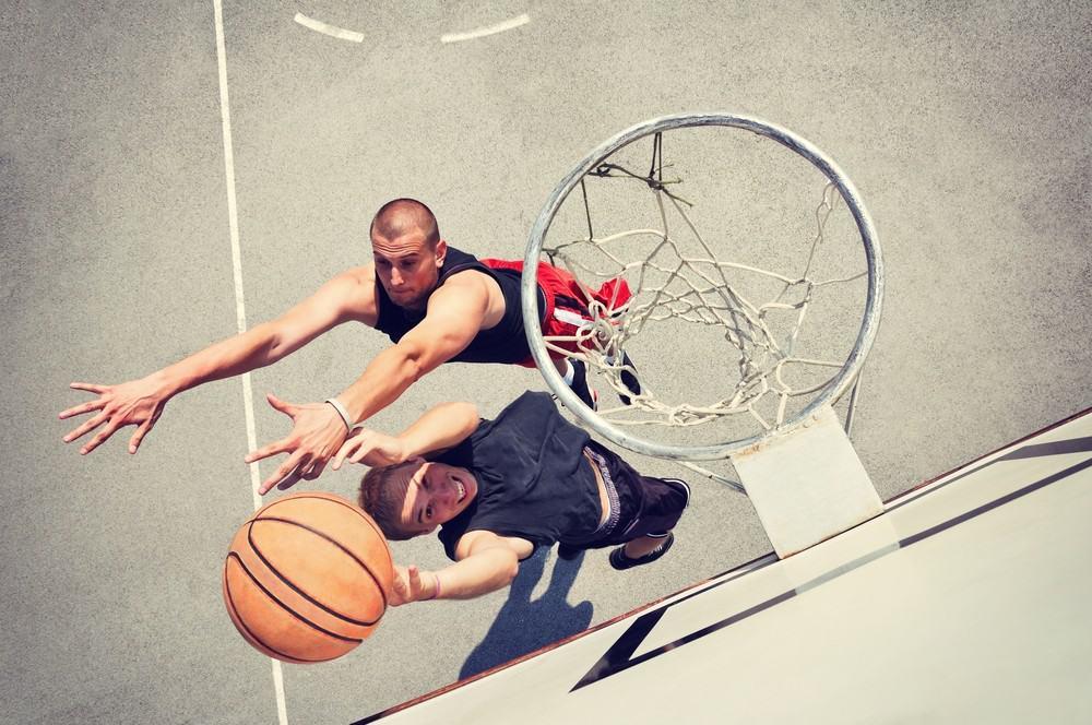 Jump high basketball