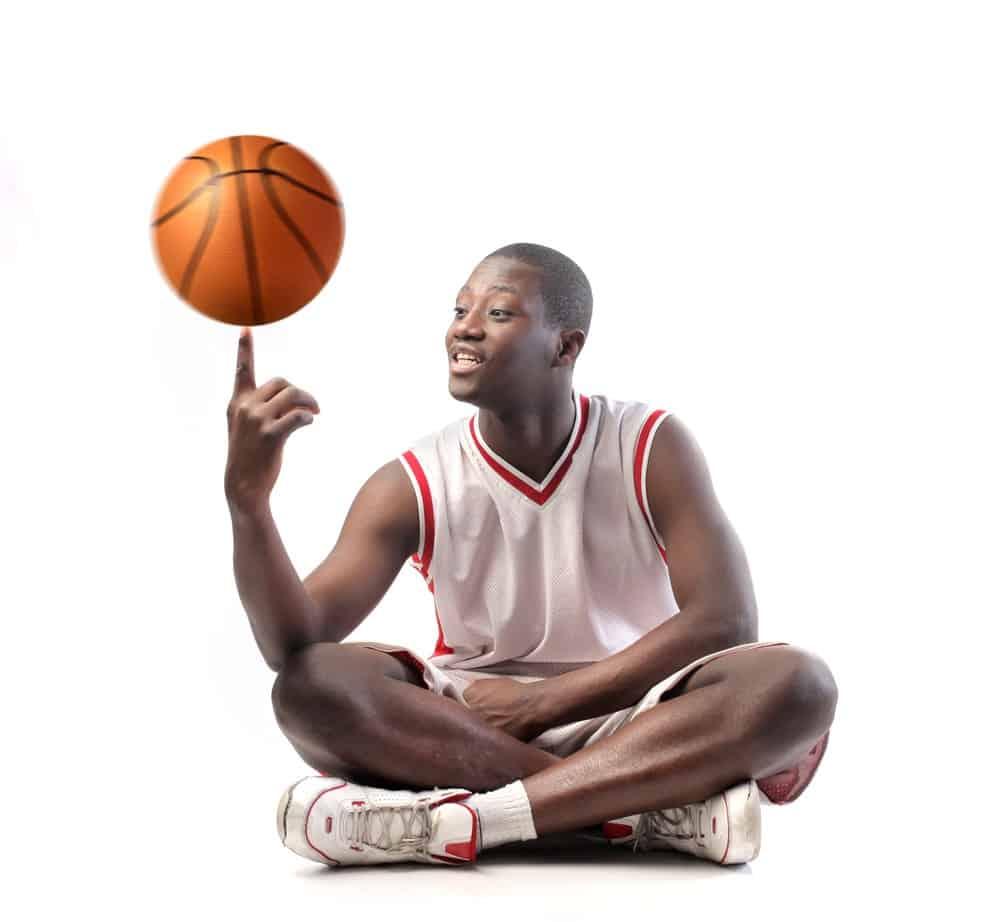 Spin Basketball on Finger