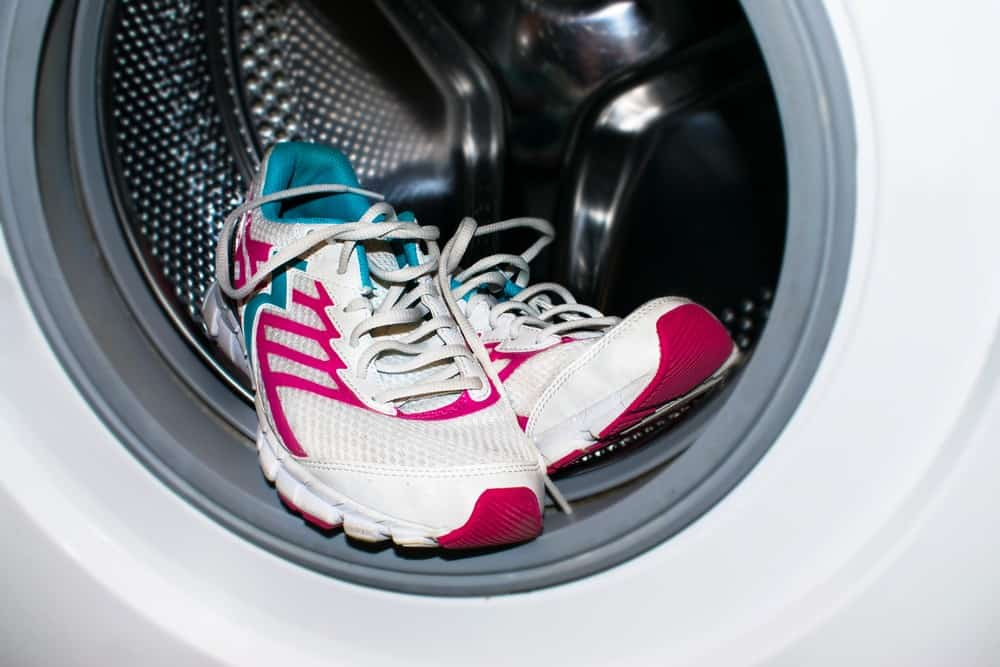 Use of Washing Machine to clean basketball shoes