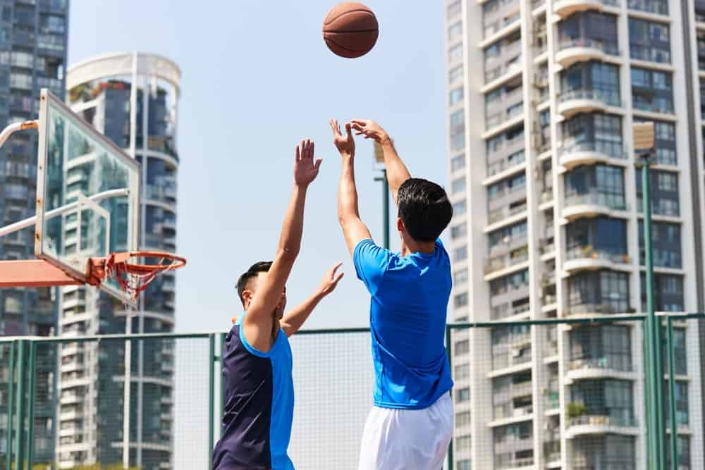 get better at basketball shooting