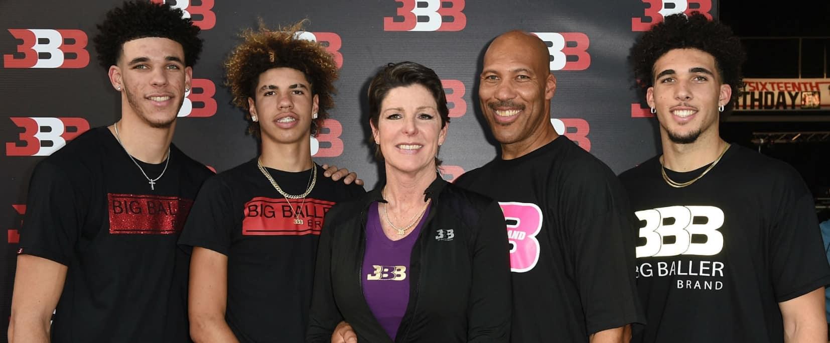 LaMelo Ball Family