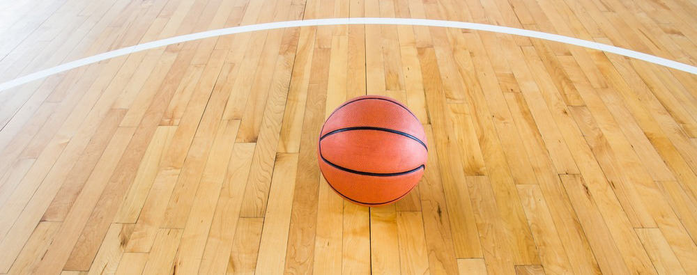 Indoor Basketball Court Hardwood Tiles