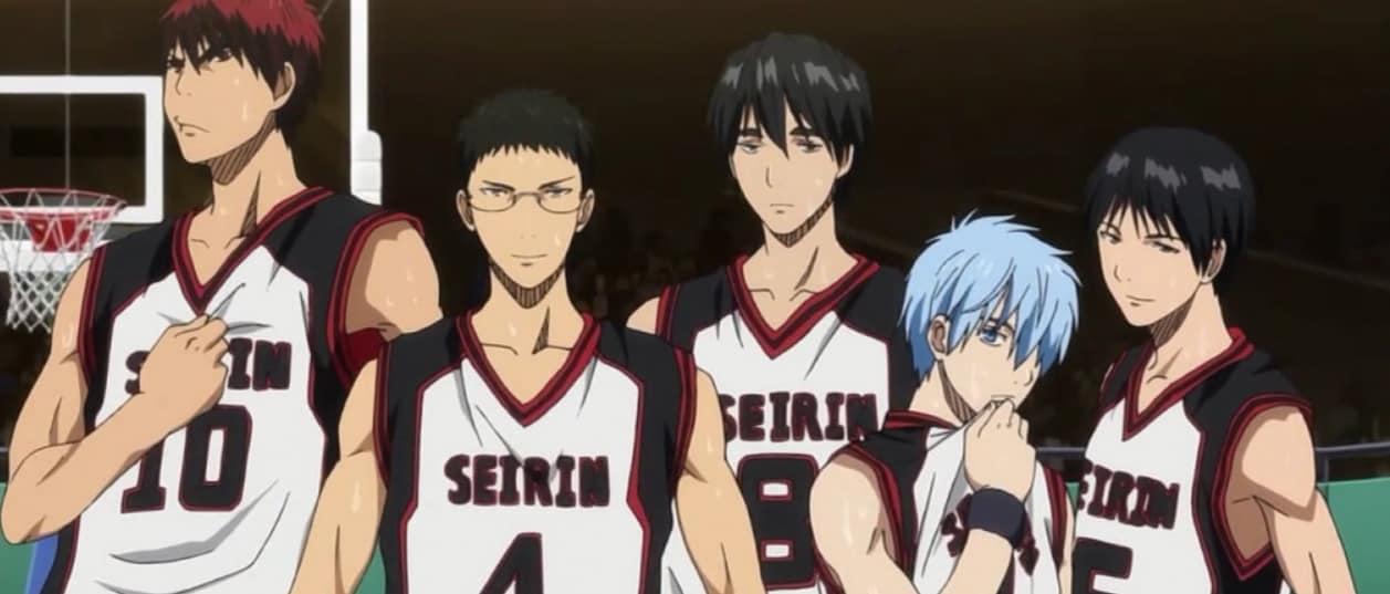 Kuroko No Basket Basketball Anime